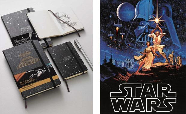 Moleskine Star Wars Notebook College Ruled 240 sheets 5