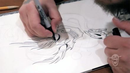 david-tevenal-tattoo-flash-video