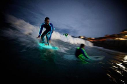 Strongbow-neon-surf-bondi-beach