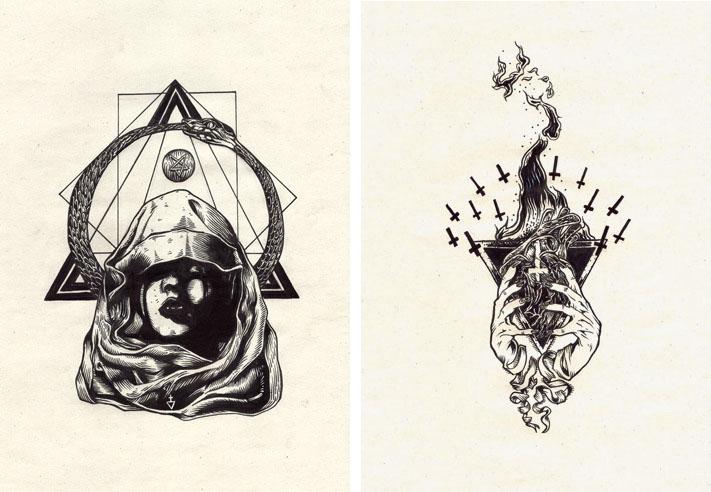 Illustrations by Førtifem – Sixand5