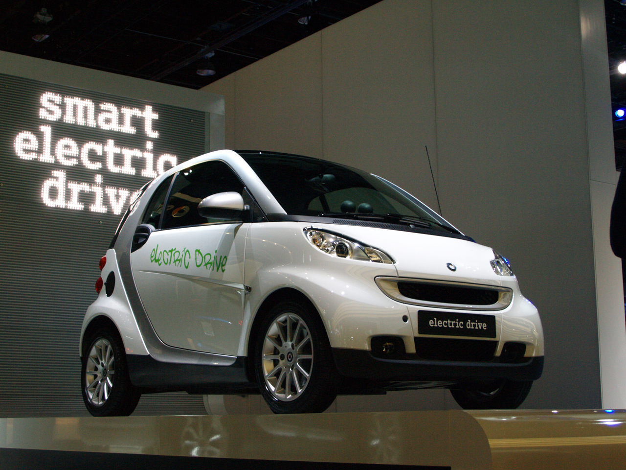 New SMART Electric Car