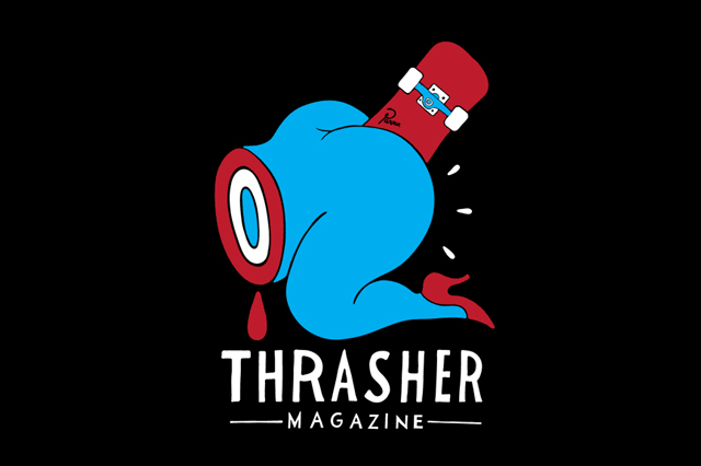 Thrasher presents an original Parra-illustrated T-shirt of profane ...