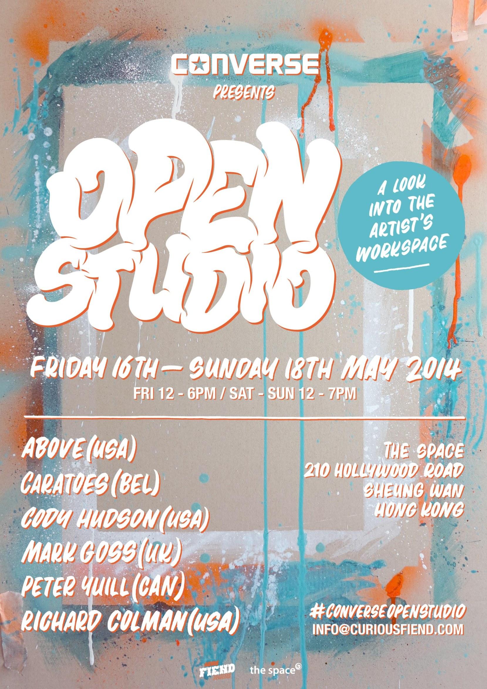 Converse Open Studio Poster (Final)