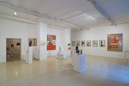 barry-mcgee-and-clare-rojas-exhibition-alessandra-bonomo-gallery-in-rome-1