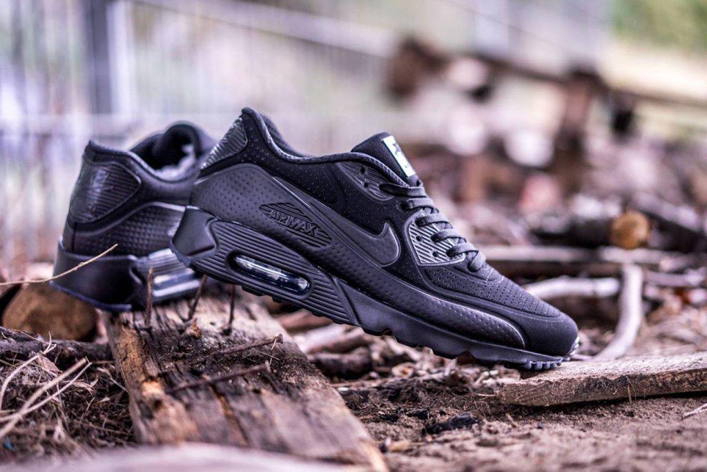 "Nike Air Max 90 Ultra Moire ""Triple Black"" – Sixand5"