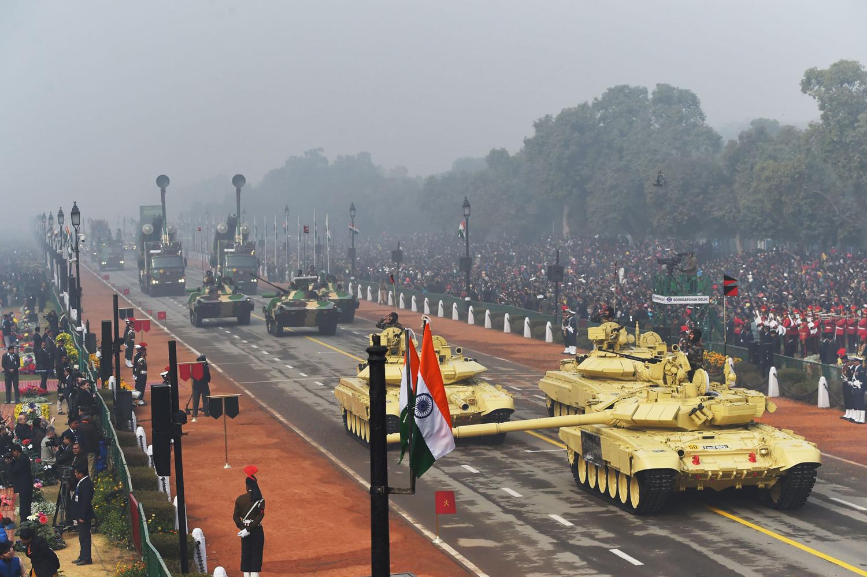 INDIA-FRANCE-REPUBLIC DAY PARADE