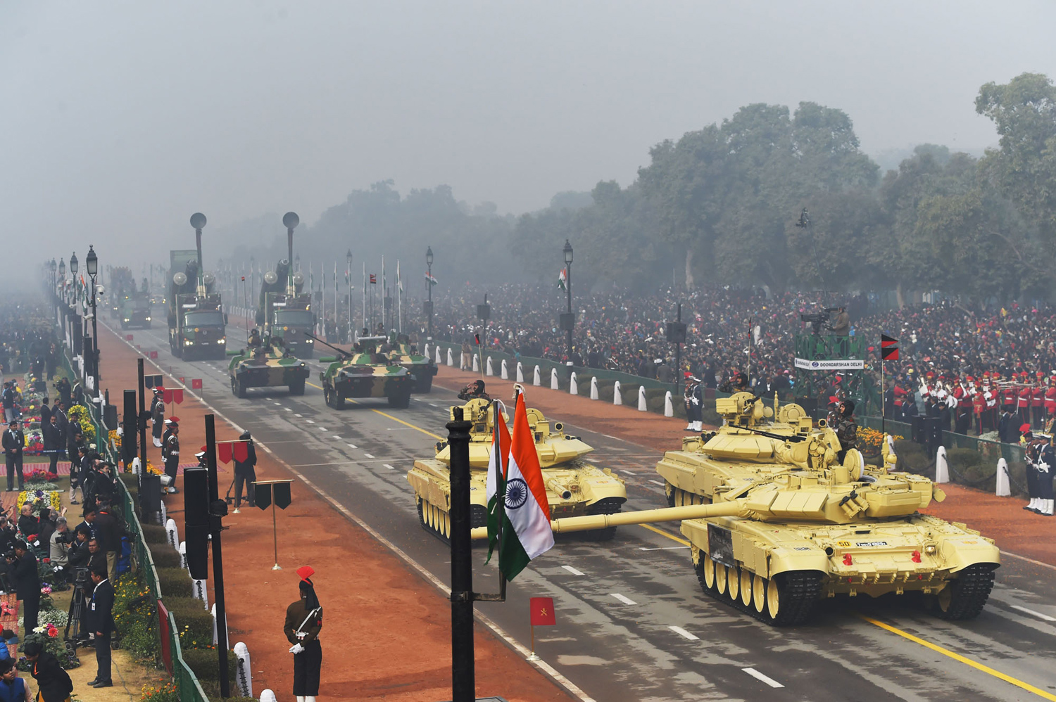 INDIA-FRANCE-REPUBLIC DAY PARADE